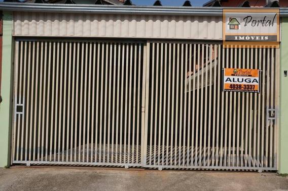 Casa Com 2 Dormitórios Para Alugar Por R$ 1.100,00/mês - Jardim América - Campo Limpo Paulista/sp - Ca0327