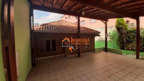 Casa, 154 M² - Venda Por R$ 435.000,00 Ou Aluguel Por R$ 1.900,00/mês - Jardim Pinhal - Guarulhos/sp - Ca0380