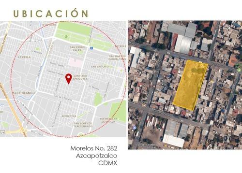 Terreno Para 29 Viviendas En Del. Azcapotzalco