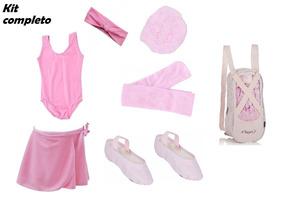 Kit 7 Und Ballet C/ Sapatilha Capezio - Tam 4 Ao 48 + Brinde