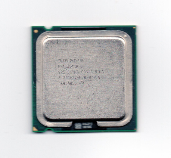 Processador Intel Pentium D 925 3.00ghz Lga 775 Fsb 800 4mb