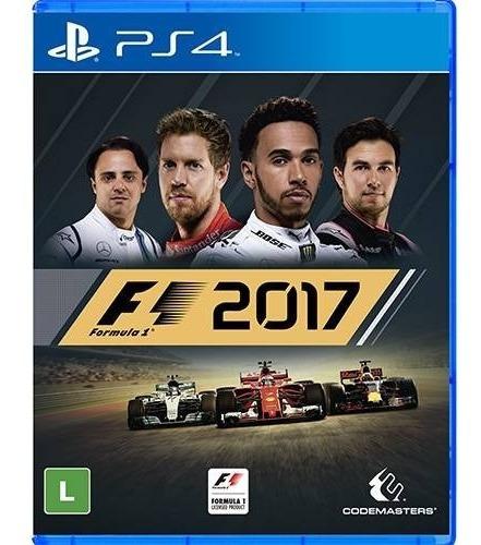 Jogo Formula 1 2017 Ps4 Mídia Física Nota Fiscal