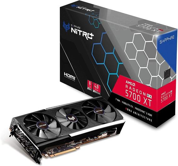 Amd Radeon Rx 5700 Xt Sapphire Nitro+ 8gb Gddr6
