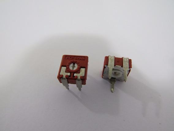 Trimpot Ceramico Horizontal 100r 1/2w 5 Kit12pç 32.45.09.025