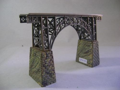 Imagen 1 de 10 de Nico Puente Viaducto Alto 145x30x95 Mm Heljan Esc N (amn 04)