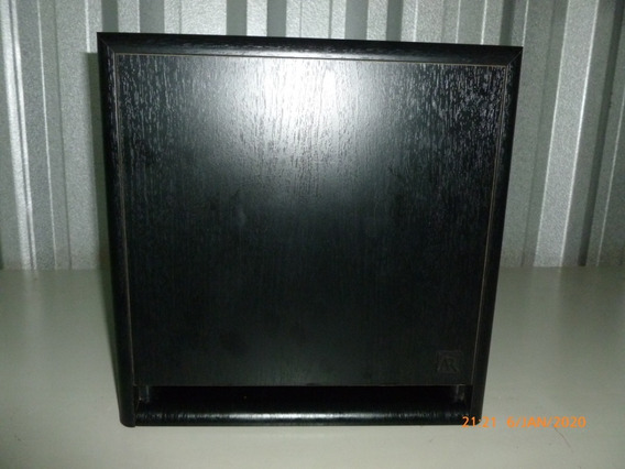 Subwoofer Acoustic Research Compacto Potente 120 Wrms Ars108