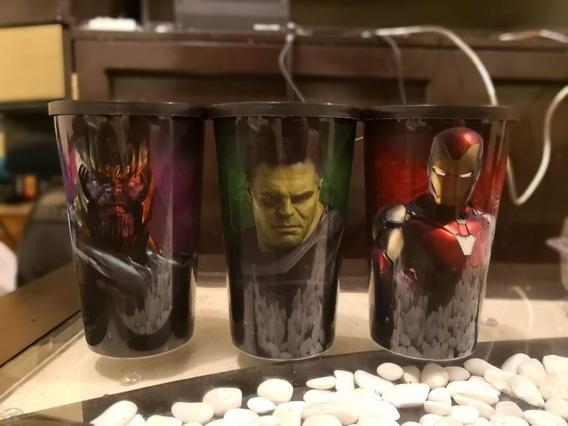 Set De 3 Vasos Cinepolis Avengers End Game Record Guiness