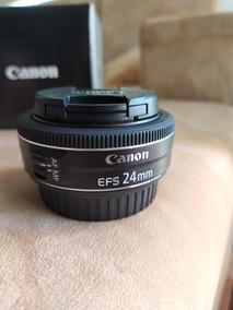 Lente Canon 24 Mm 2.8 Stm Brinde Parassol