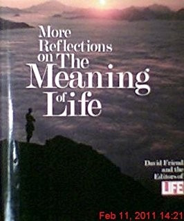 Livro More Reflections On The Meaning Of Life: David Friend