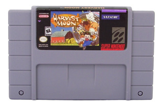 Harvest Moon Fazenda Americano Super Nintendo Snes Cartucho