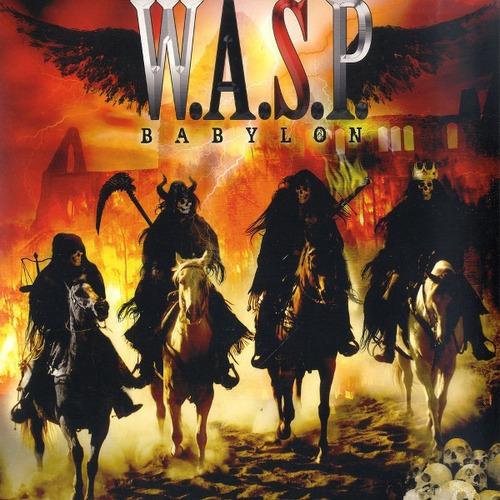 Imagen 1 de 1 de Wasp  Babylon Cd Nuevo Nacional Icarus