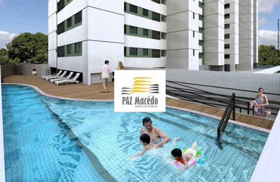 Apartamento Campo Grande 02 Quartos, 01 Suíte, 50mts, 01 Vaga, Lazer Completo, Nascentes - Ap00476 - 68132699