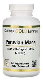 Maca Peruana Energia Menopausa 500mg 240 Cp Importado+brinde