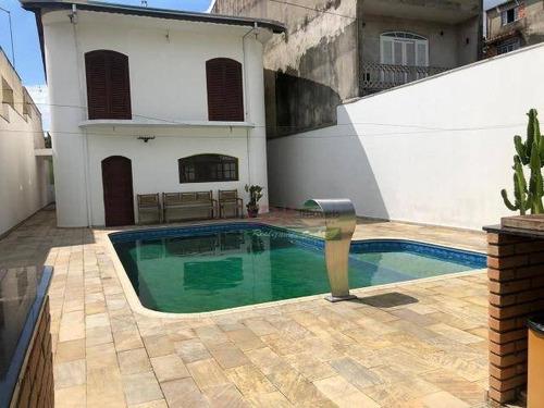Imagem 1 de 18 de Sobrado Com 3 Dormitórios À Venda Por R$ 1.272.000 - Vila Romanópolis - Ferraz De Vasconcelos/sp - So2218