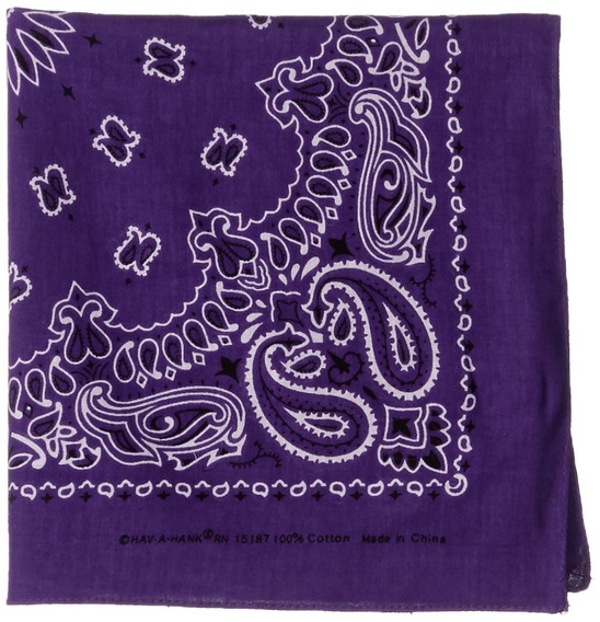 Carolina Have, A, Hank Paisley Bandannas, 22-inch By 22-inch