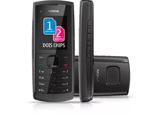 Celular Nokia X1 01 De Dois Chip Oi Tim Vivo Claro Novo Vitr