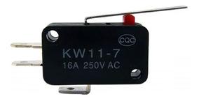 Chave Micro Switch Kw11-7-3 2t 16a 27mm Fim De Curso Arduino