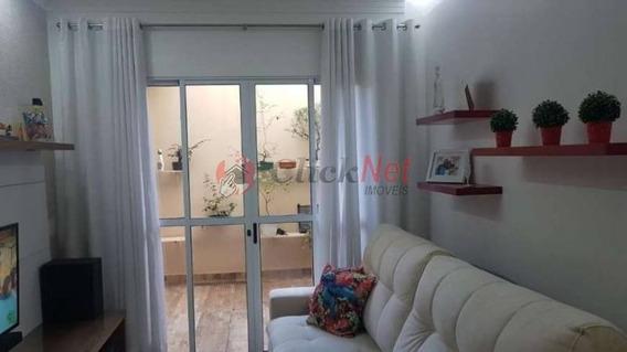 Sobrado À Venda Em Condomínio Fechado No Bairro Demarchi Em São Bernardo - 5460