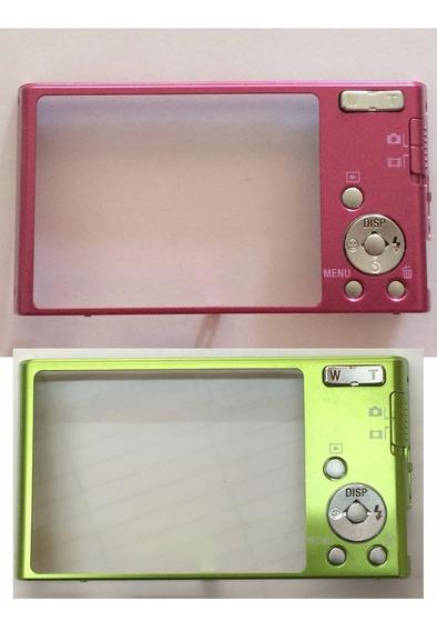 Gabinete Traseiro Sony Dsc-w320 X25460641 Verde Ou Rosa