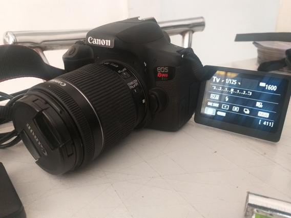 Câmera Canon Eos Rebel T6i