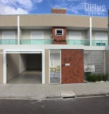 Sobrado Residencial À Venda, Conjunto Residencial Áquila, Pinhais. - Codigo: So0085 - So0085
