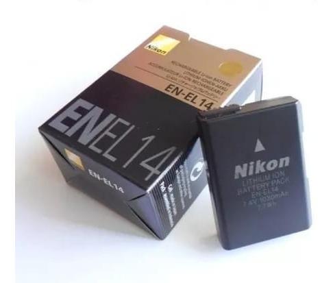 Bateria Nikon En-el14 D3100 D3200 D3300 D5200 D5100