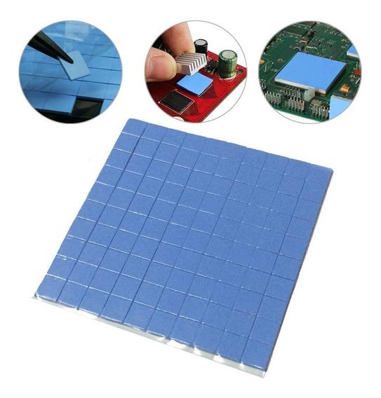 Thermal Pad Termico Folha 10cm X 10cm X 1mm 100pcs
