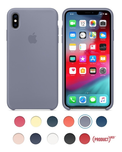 Protector Funda Silicone Case Oficiales iPhone XS / Xs Max