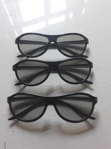 Kit 3 Óculos 3dmax LG