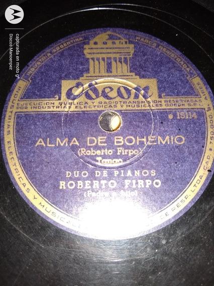Disco Pasta Roberto Firpo Odeon C127