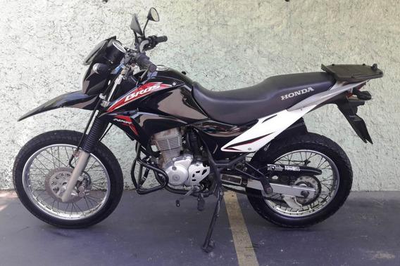 Vendo Honda Bros Esd Flex 2014 Preta Com Baixa Quilometragem