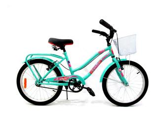 Bicicleta Playera Halley Full Rodado 20 Dama Envio Gratis