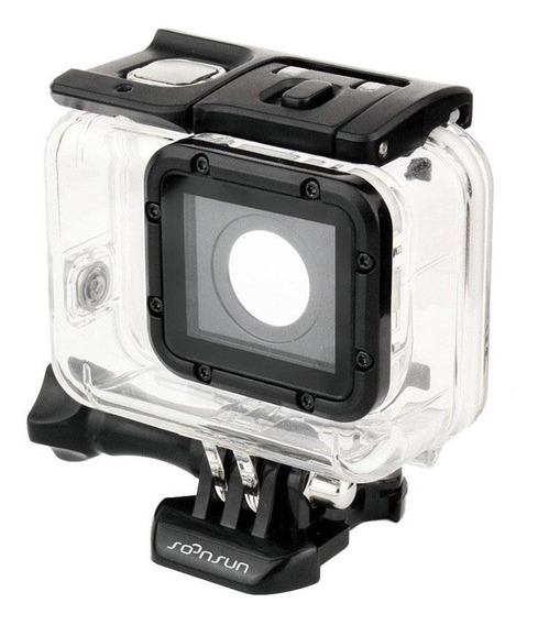 Caixa Case Gopro Hero 5, 6 E 7 Black Estanque Super Suit