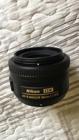 Lente Nikon Af-s Dx Nikkor 35mm F/1.8g