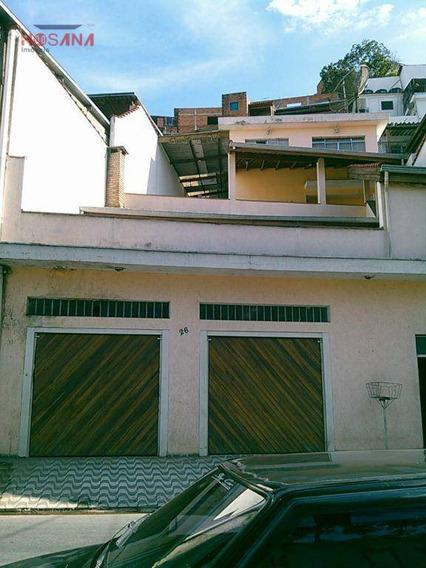 Sobrado Residencial Para Venda E Locação, Vila Bazu, Franco Da Rocha. - So0138