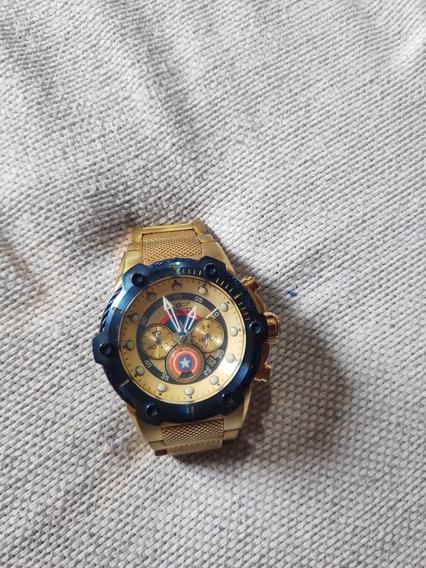 Relógio Invicta Original Da Marvel Edição Limitada