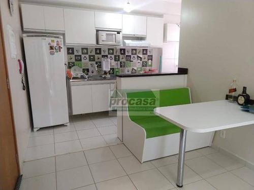 Apartamento Mobiliado Com 3 Dormitórios À Venda, 60 M² Por R$ 185.000 - Tarumã Açu - Manaus/am - Ap3188