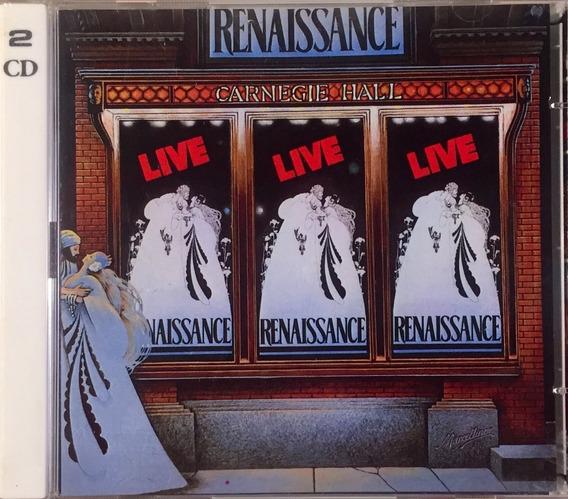 Renaissance - Live At The Carnegie Hall - 2cds Germany Novo