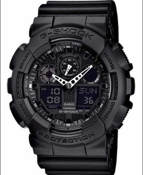 Relógio Ga-100casio G-shock Ga100 1a1 Original Watch