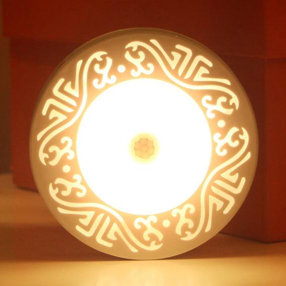 Baterias Alimentadas Led Lampada Sensor Noite Quente