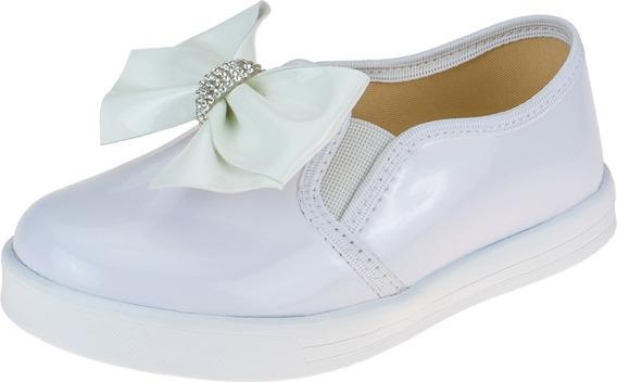 Tênis Infantil Feminino Sapato Escolar Moda Menina Calçados