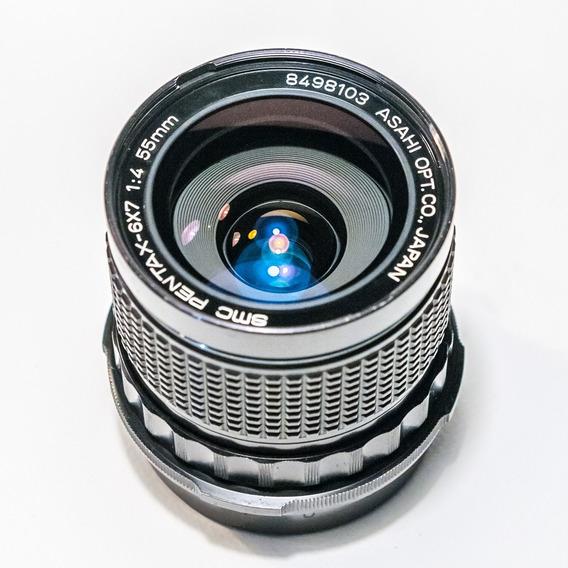 Grande Angular 55mm F4 Para Pentax 67 - Perfeito Estado