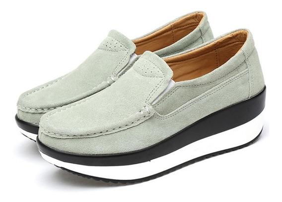 Plataforma Zapatos Mujer Verano Casual Mocasines