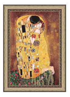 Cuadro En Tela, El Beso, Gustav Klimt, 78x98cm