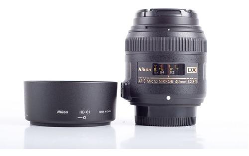 Lente Intercambiável Nikon Af-s Dx Micro 40mm F/2.8g