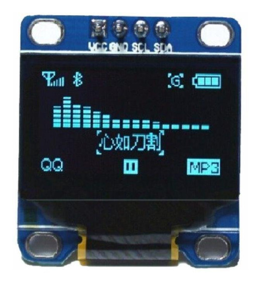 Display Oled 0.96 Lcd Serial Arduino Led Gráfico 128×64 I2c