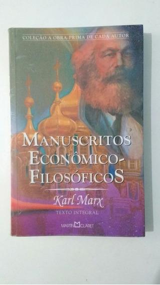 Livro Manuscritos Econômico - Filosóficos, Karl Marx, Martin