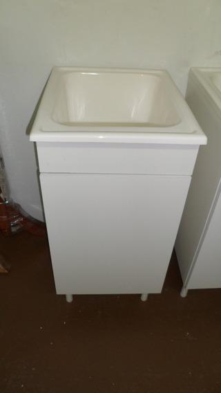 Mueble De Lavadero 38.5cm (bajo) Sin Mesada Amoblamientos Fl