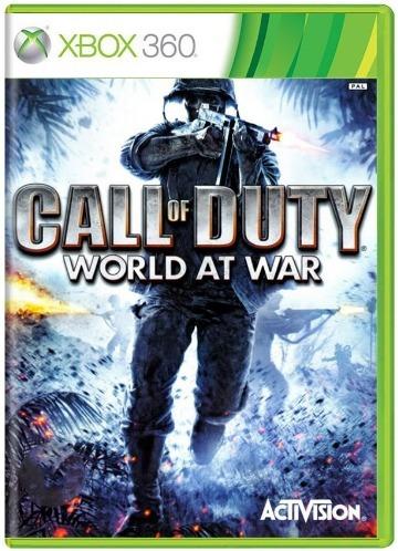 Call Of Duty World At War Xbox 360 Xone Original - Frete Econômico Na Descrição Por R$12