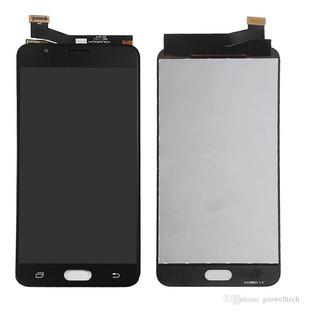 Tela Display Touch J7 Prime Dourado Preto